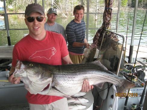 Beaver lake striped bass fishing report 08 22 2015 for Beaver lake arkansas fishing report