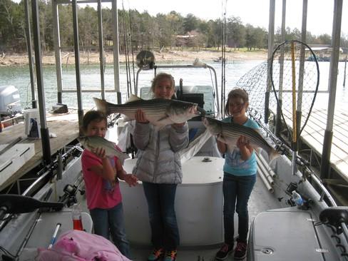 Beaver lake striped bass fishing report 03 22 2016 for Beaver lake fishing guides