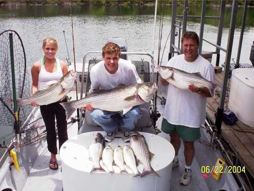 Striper fishing at it's best