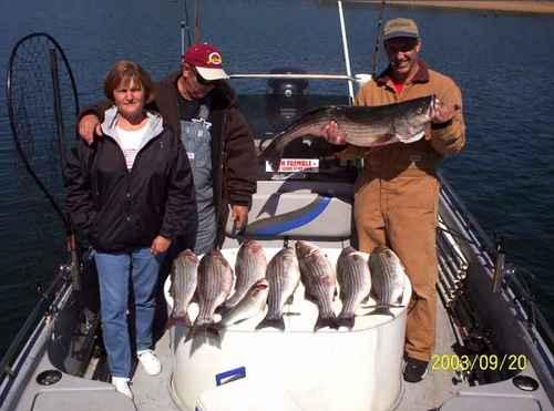 Nice mess of Stripers