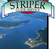 Beaver Lake Striper Guides
